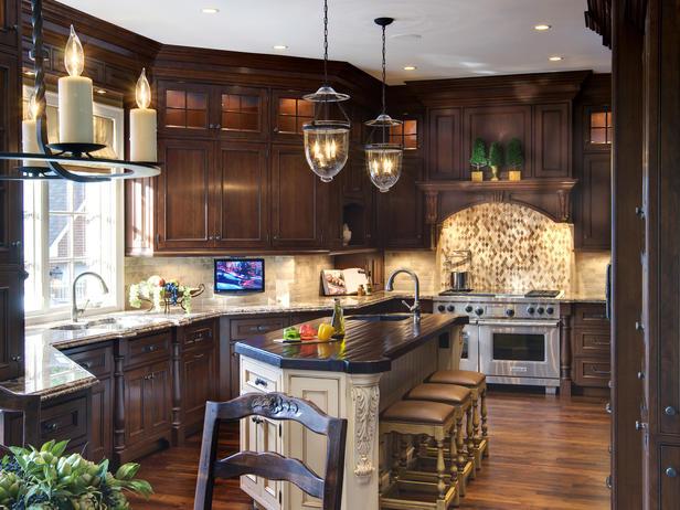Modern Furniture Traditional Kitchen Decorating Design