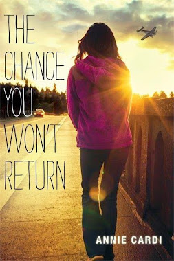 TWO starred reviews for Anne Cardi's young adult debut THE CHANCE YOU WON'T RETURN!