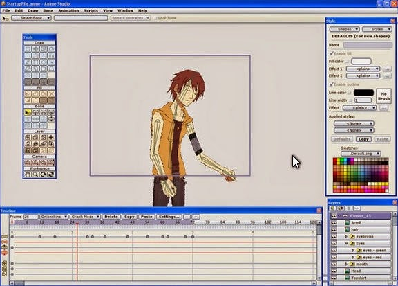 Free 2D Characters Content Packs - Moho Anime Studio