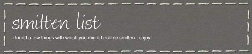 smitten list