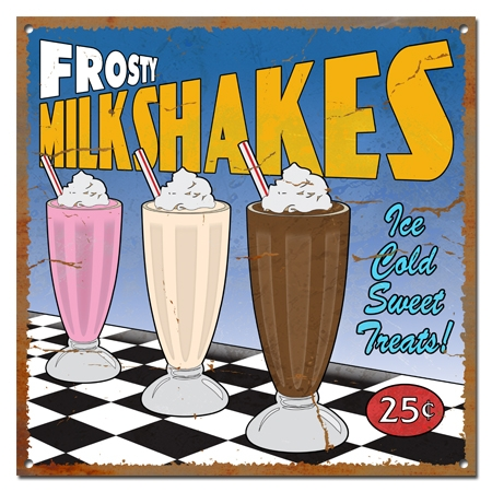 How Retro Com Milkshake Glasses
