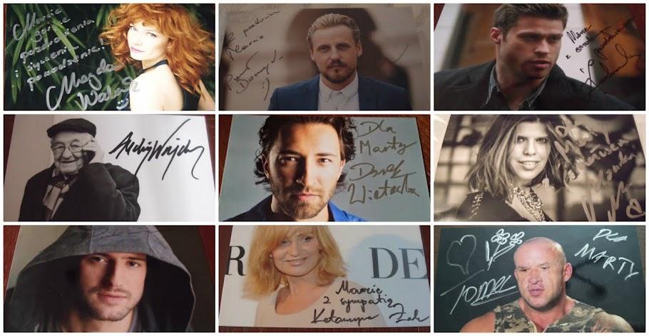 Autografy gwiazd & królewskie odpowiedzi