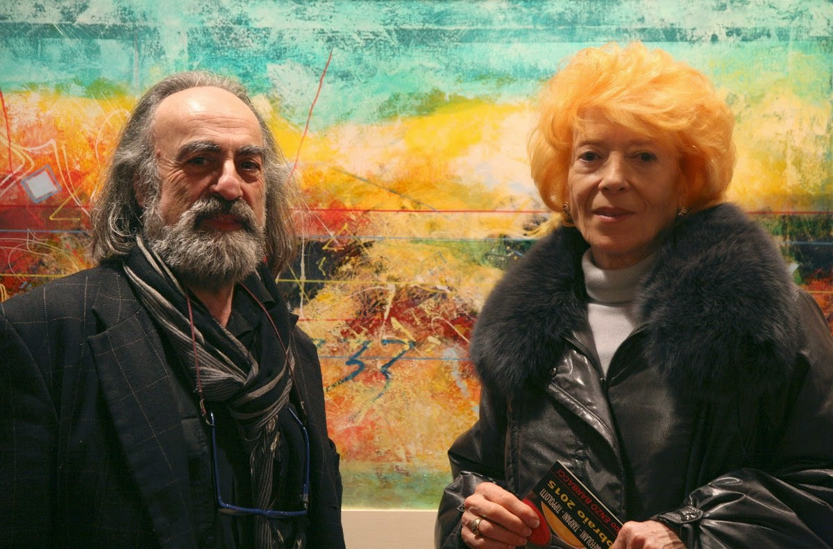 Ferruccio Ramadori with Donatella Marinucci