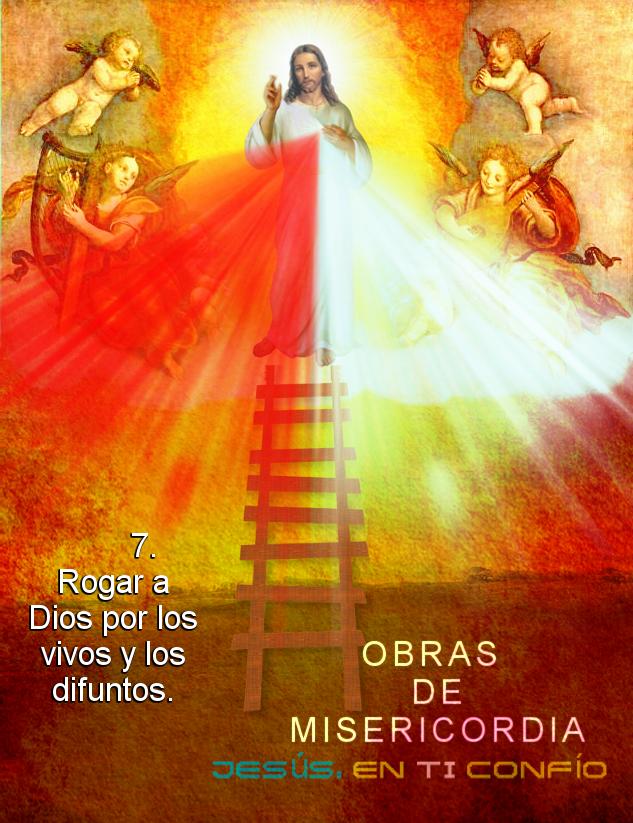 obra de misericordia rogar por las almas del purgatorio y los vivos