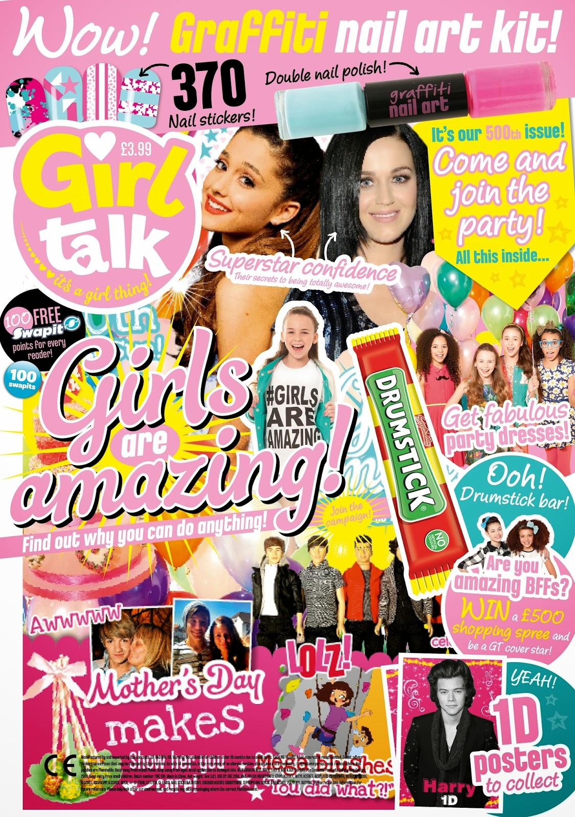 girl talk 500th issue