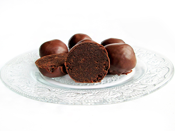 Mud cake truffles tinascookings.blogspot.com