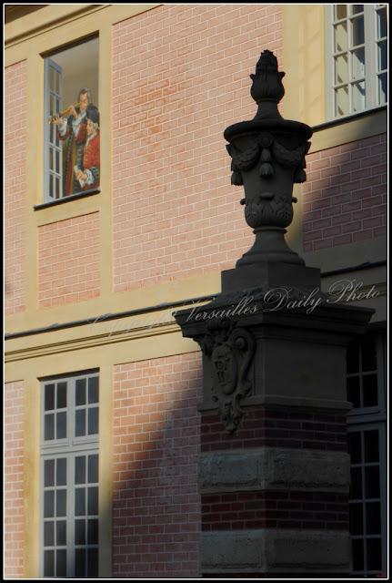 Trompe-l'oeil hôtel des gendarmes Versailles