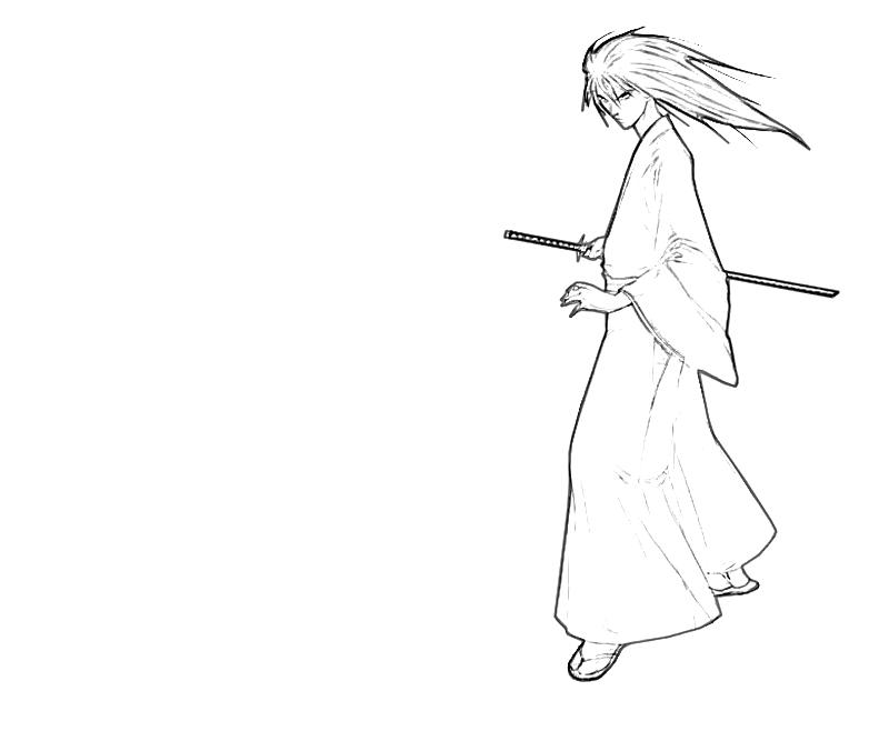 printable-kenshin-himura-character_coloring-pages