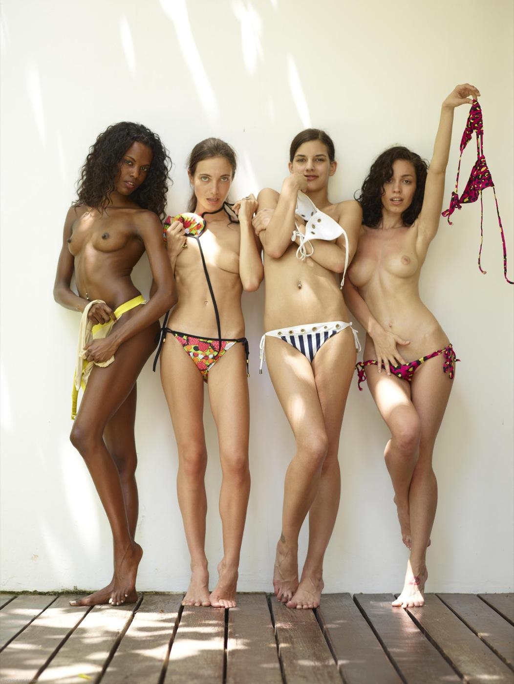 Mujeres Guapas Desnudas Estudiantes Flacas Se Desnudan