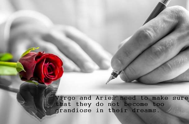 virgo woman dating an aries man Learn why the aries woman and virgo man couple rates a score of 2/10 for their compatibility in romance, passion, friendship, sex, and marriage also discover what attracts them.