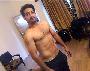 Ntr is ready to expose manatelugumovies prabhas allu arjun rana sunil nitin were seen sporting six pack abs on silver screen now ntr is joining this list and getting ready to go shirtless in altavistaventures Images