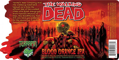 Terrapin The Walking Dead Blood Orange IPA