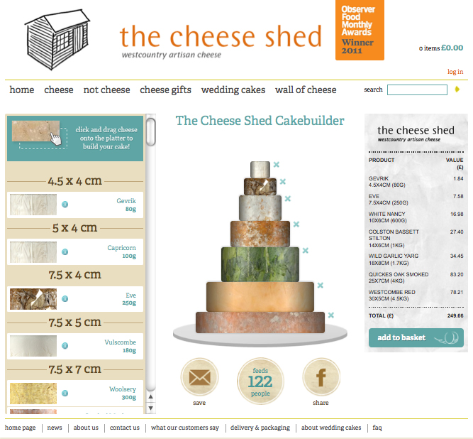 Cheese wedding cakes waitrose uk