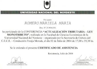 Actualización Monoributo 2004