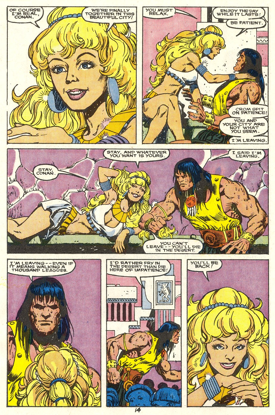 Conan the Barbarian (1970) Issue #214 #226 - English 11