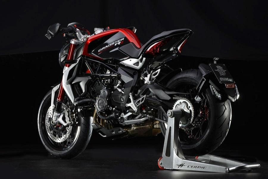 MV Agusta Brutale 800 Dragster RR (2015) Rear Side