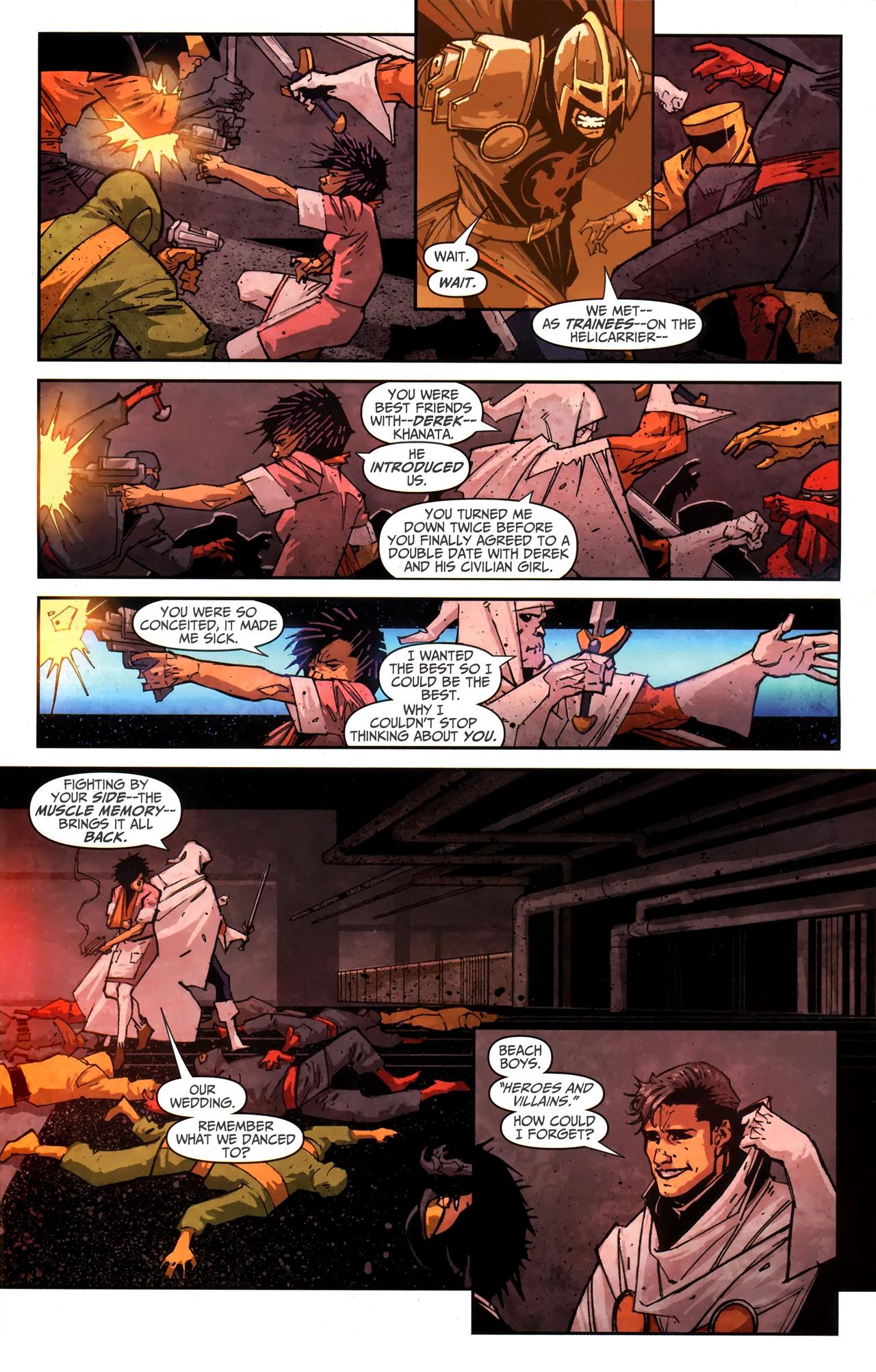 Read online Taskmaster (2010) comic -  Issue #4 - 14