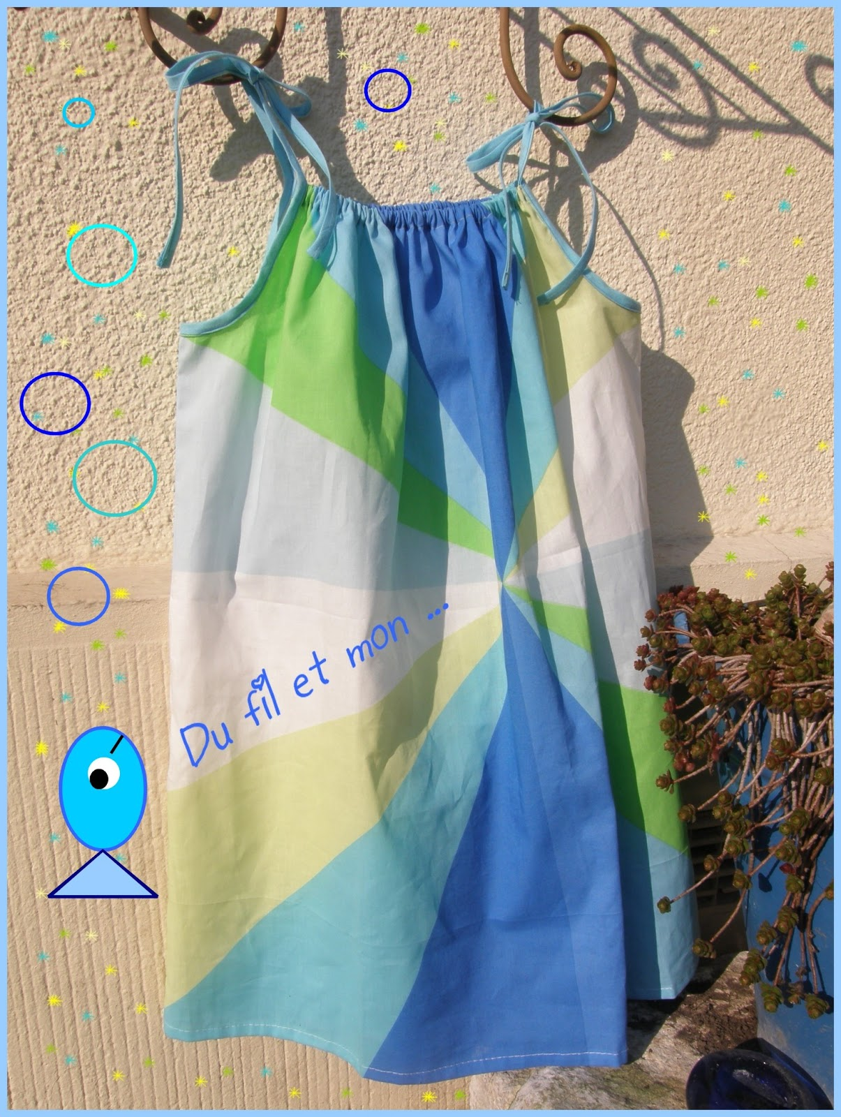 robe enfant taie d oreiller recyclee