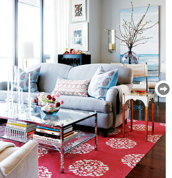 Eclectic Home Tour: Mix And Chic: Home Tour- A Designer's Eclectic Condo In
