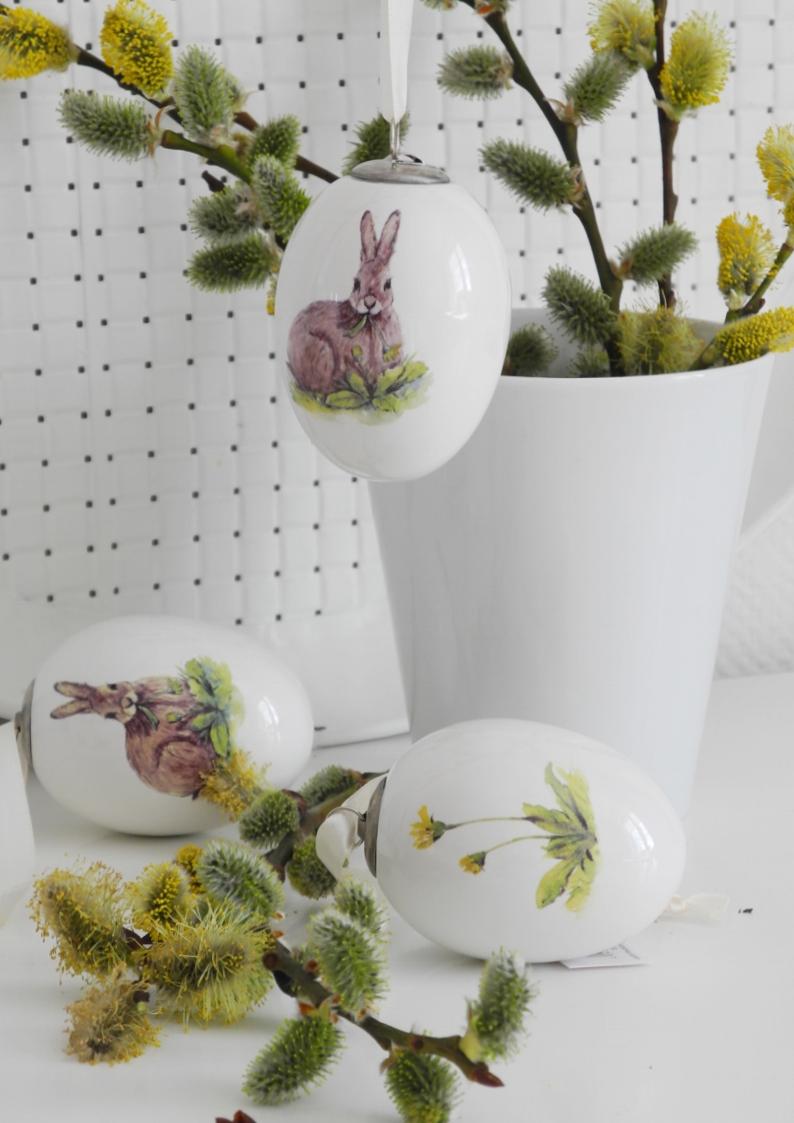 Zawieszka ceramiczna z zającem
