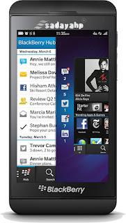 Harga Dan Spesifikasi HP BlackBerry z10
