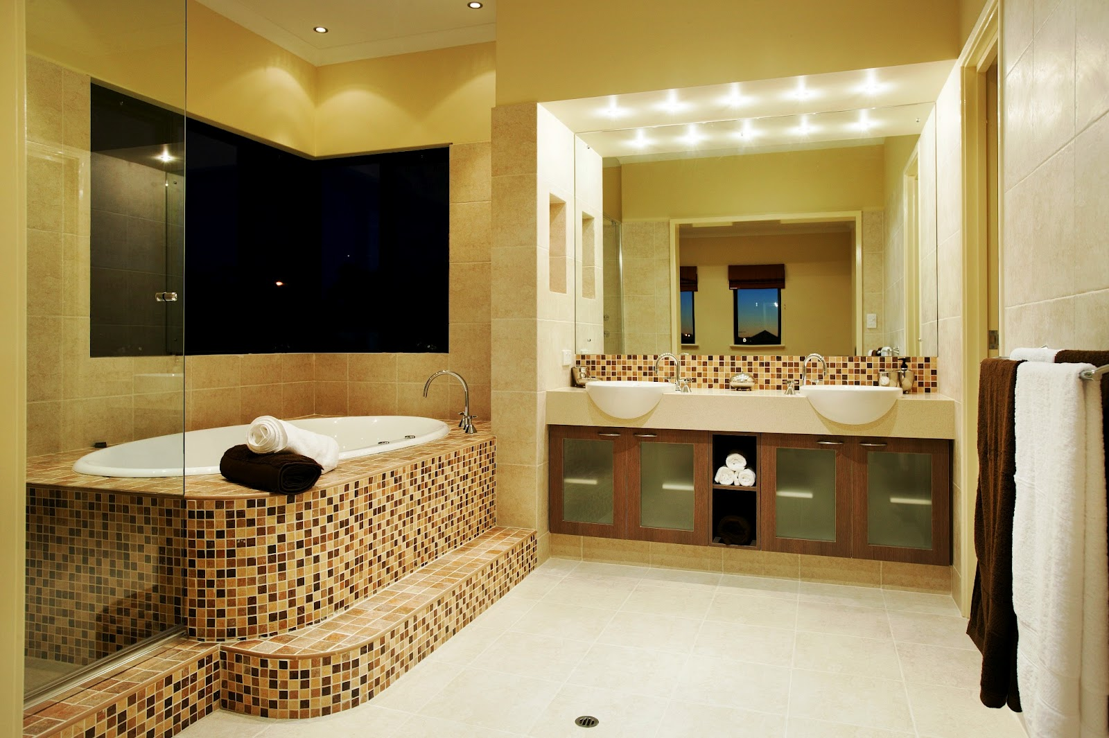 Fashion Hairstyle Celebrities: Home Bathroom Designs|Bathroom Wall ...