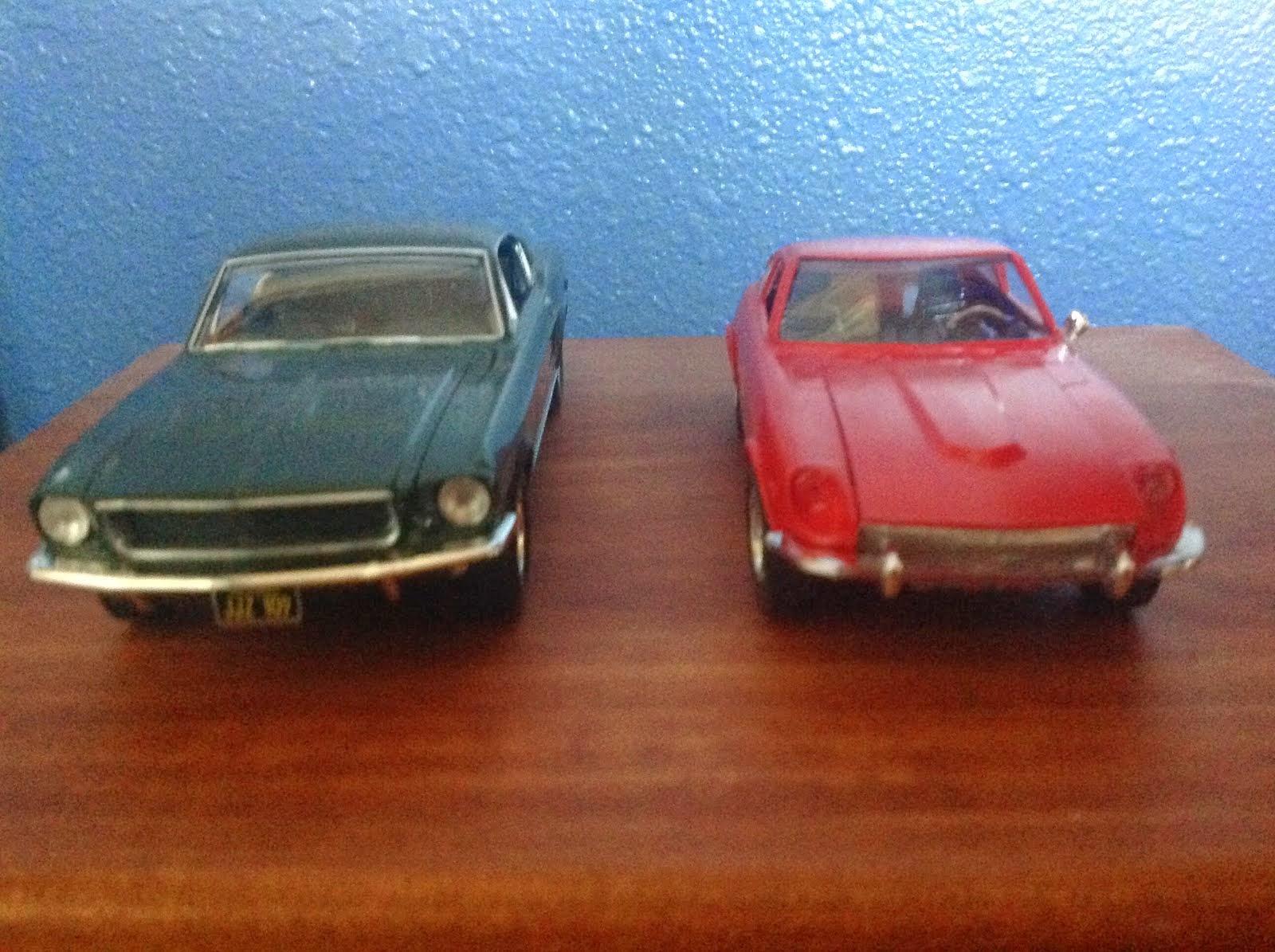 1968 BULLITT MUSTANG  and DATSUN 240Z!