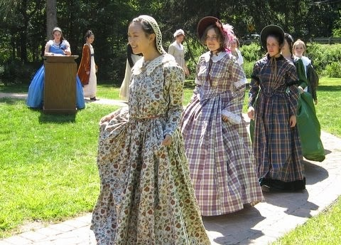 Fashion show costumes