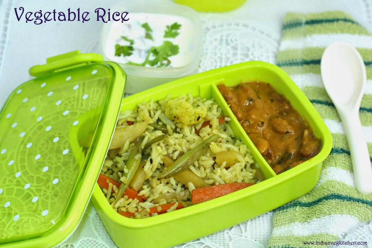 IndianVegKitchen Vegetable Rice