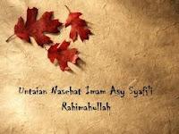 Makalah: Prinsip-Prinsip Imam Asy-Syafi'i Dalam Beragama -3