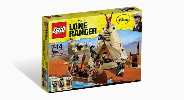 Lone Ranger 79107 Comanche Camp
