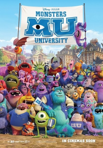 Monsters University 2013 Bioskop