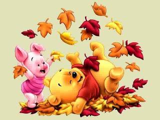 Gambar Wallpaper Lucu Winnie The Pooh dan Piglet