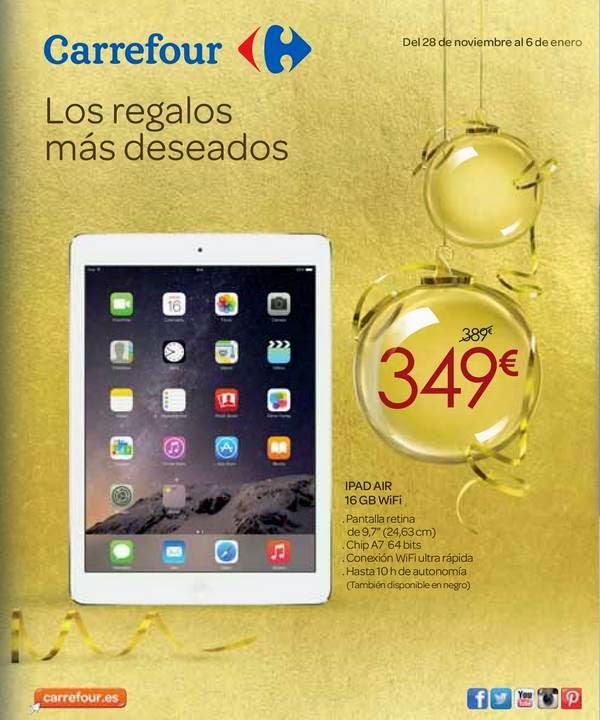 Ofertas, Regalos de Navidad y Reyes de Carrefour 2014-15