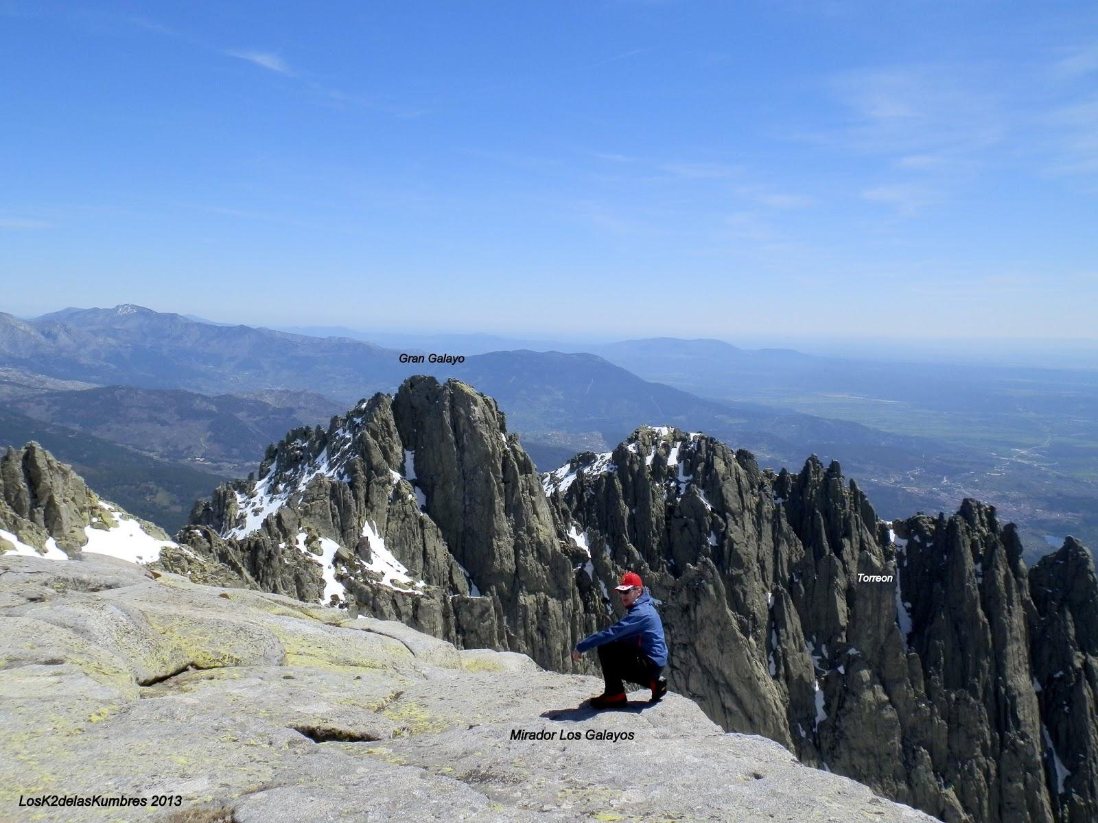 el Pico La Mira, Mirador Los Galayos