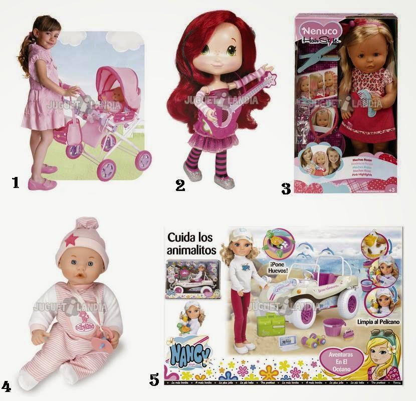 Muñecas juguetilandia Navidad 2014