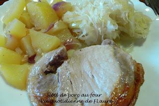 Vie quotidienne de FLaure: Roti de porc au four