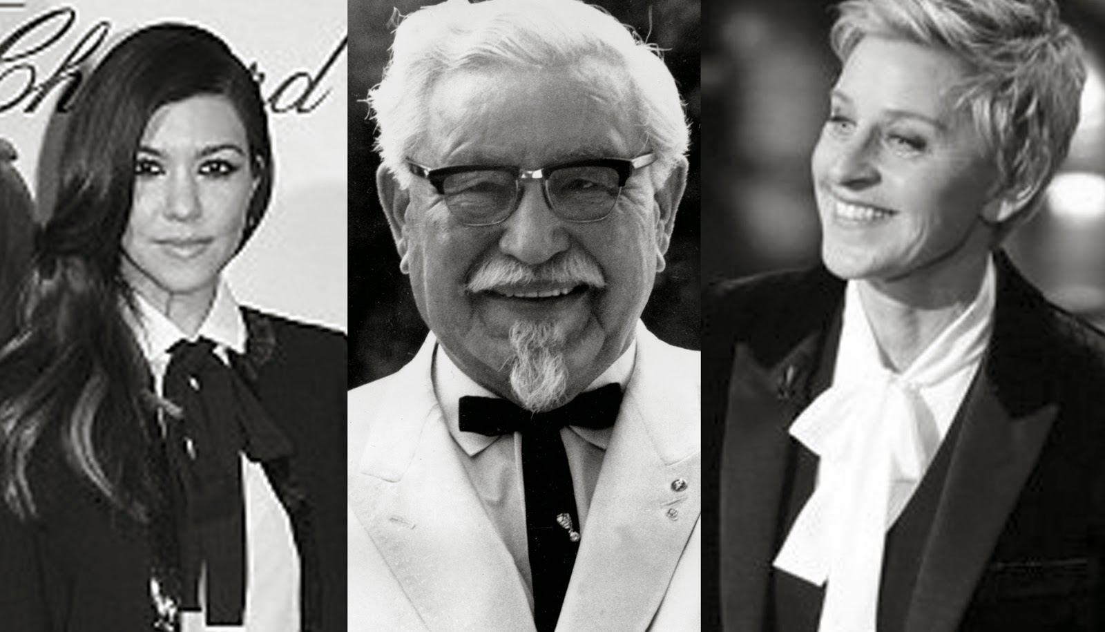 how to make a colonel sanders tie
