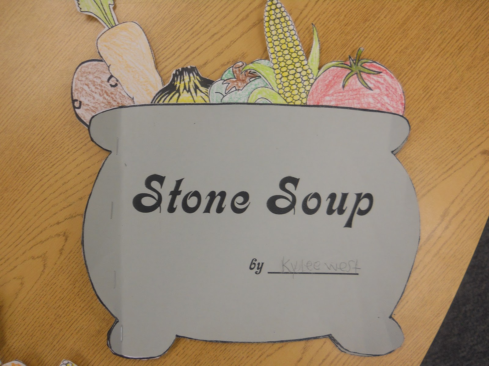 This is an image of Adorable Stone Soup Story Printable