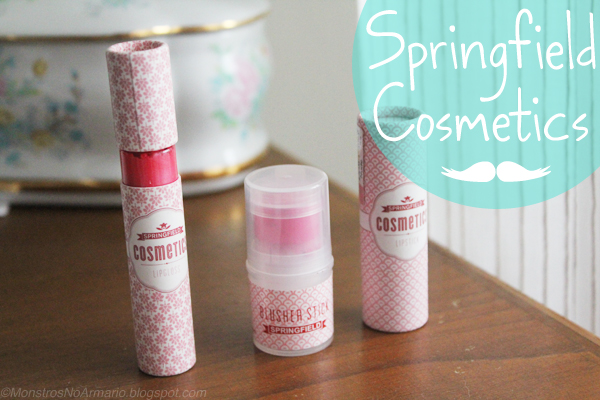 Springfield Cosmetics Review and Swatches