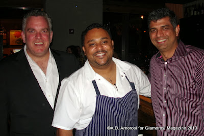 Ben Fileccia, Kevin Sbraga and Munish Narula at Sbraga in Philadelphia