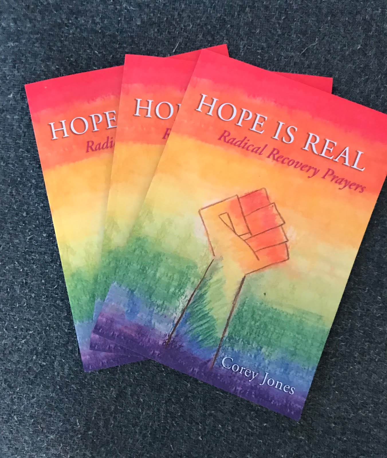 Buy Hope Is Real: Radical Recovery Prayers