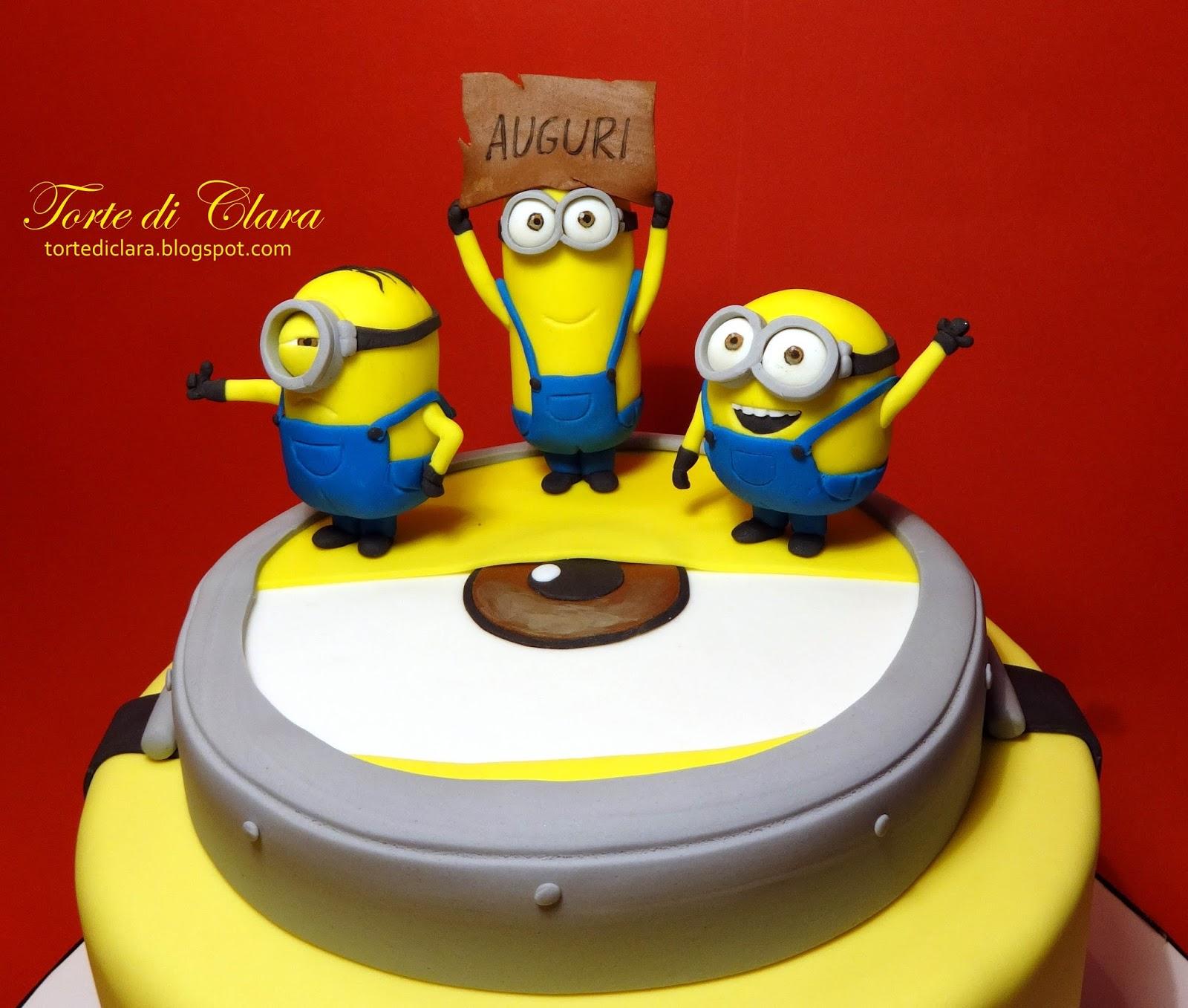 Fabuleux Torte di Clara: Minions cake (2) HS99