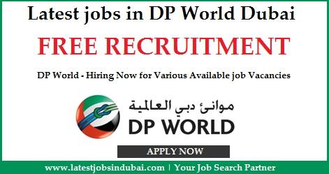 Latest jobs in DP World Dubai