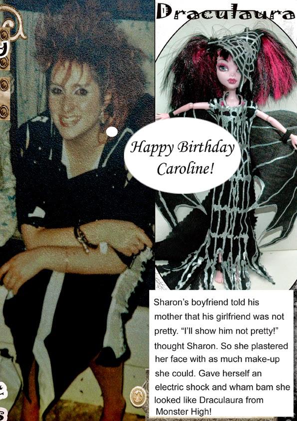Butterfly Lullaby Sharon J Bainbridge Funny Monster High Card