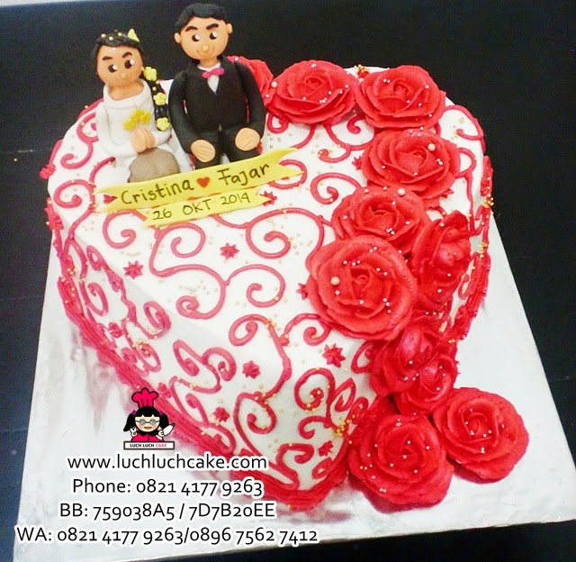 Wedding Cake Daerah Surabaya - Sidoarjo