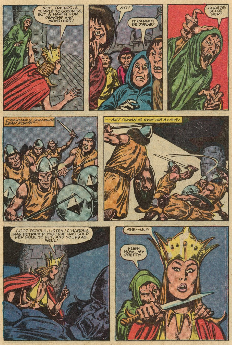 Conan the Barbarian (1970) Issue #147 #159 - English 20