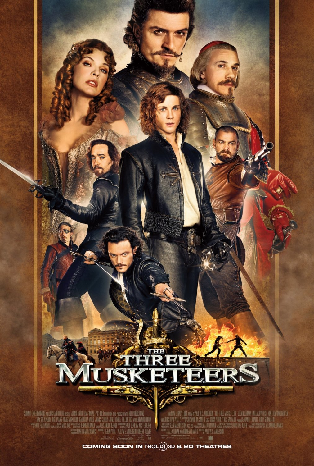 Review the three musketeers 3d