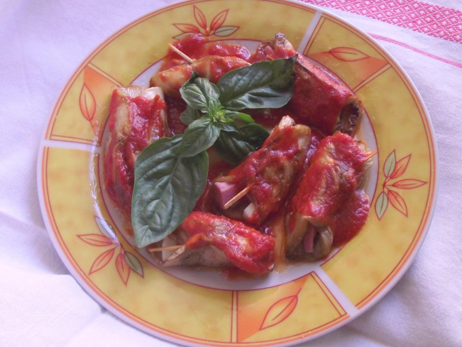 melanzane in agrodolce,involtini di melanzane e il sapore delle vacanze