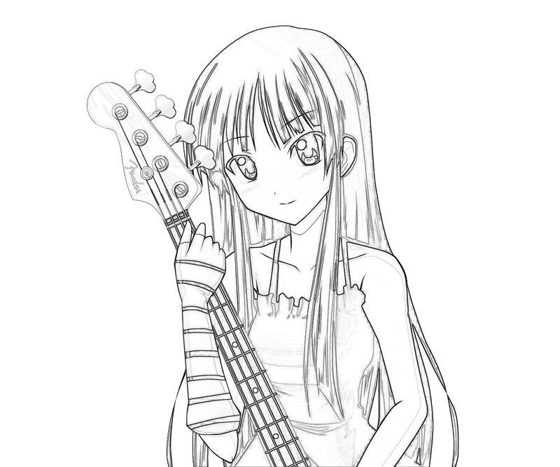 k-on-after-school-live-mio-akiyama-smile-coloring-pages